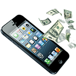 iphone with dollars-1